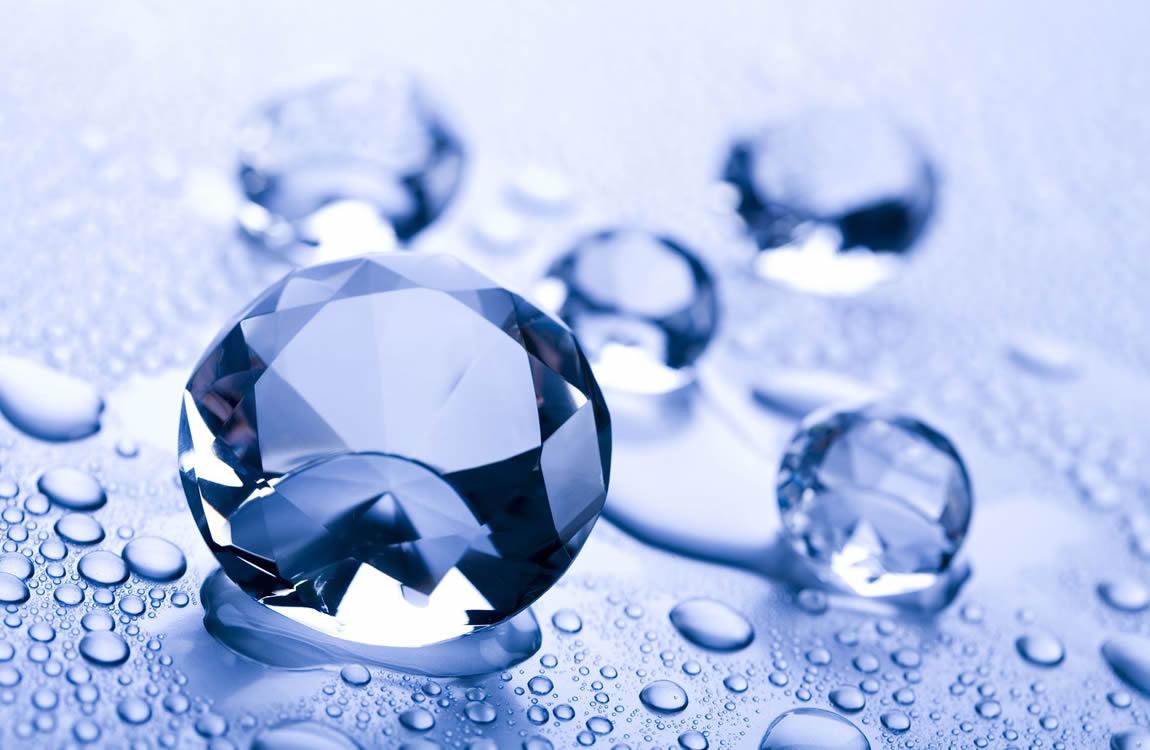 Hard water Zacht water