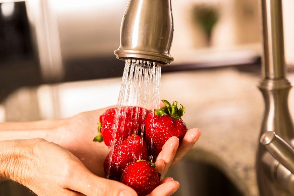 Hard water en zacht water