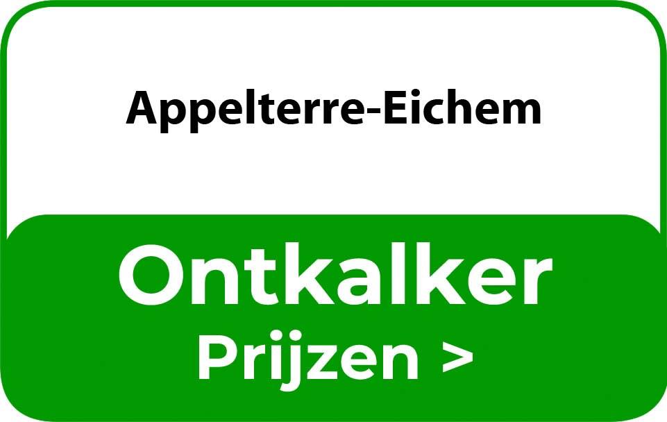 Ontkalker in de buurt van Appelterre-Eichem