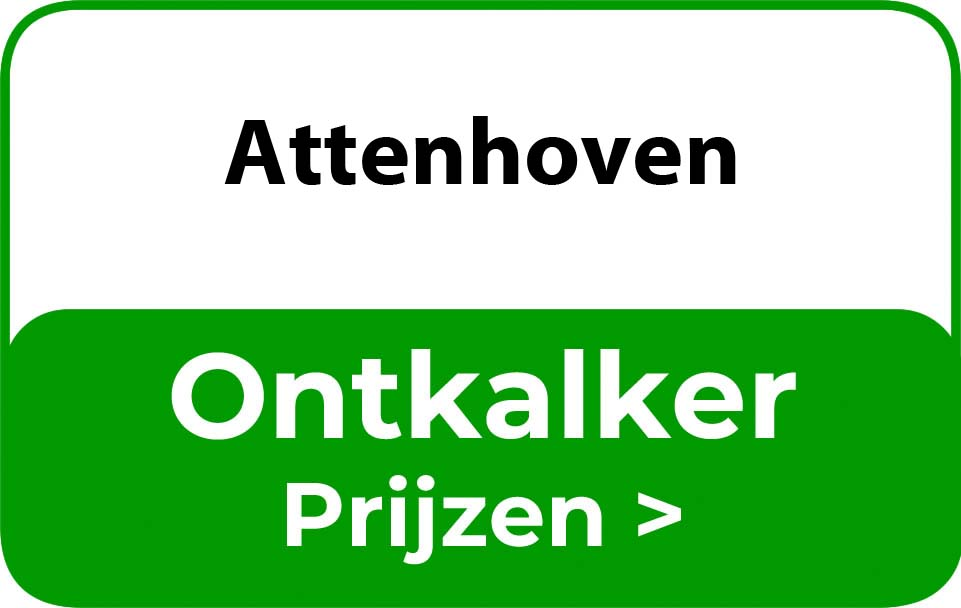 Ontkalker in de buurt van Attenhoven