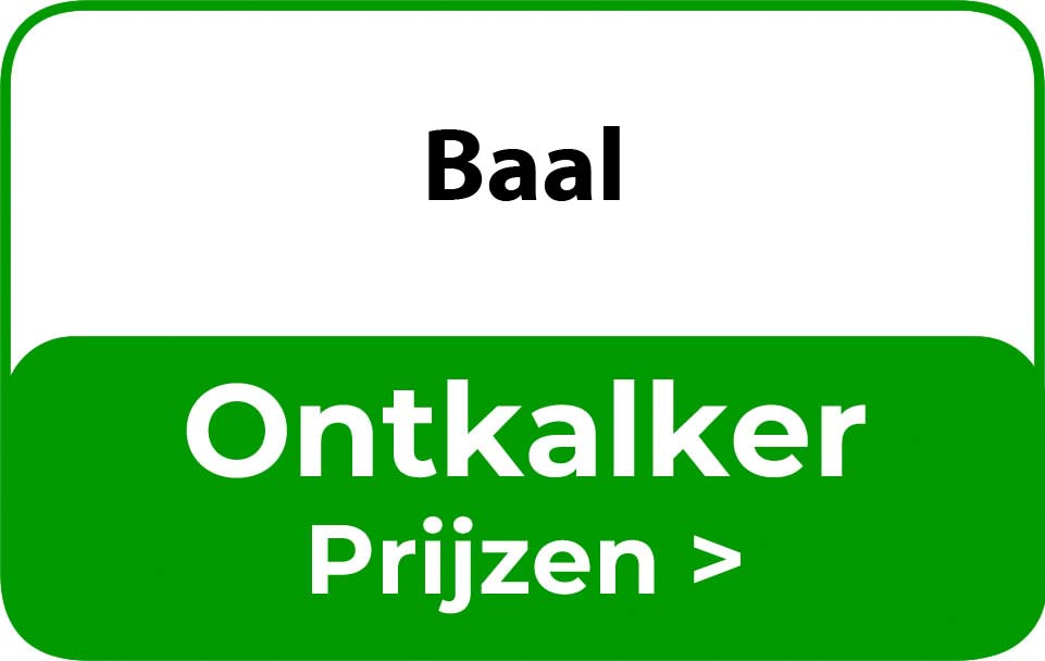 Ontkalker in de buurt van Baal