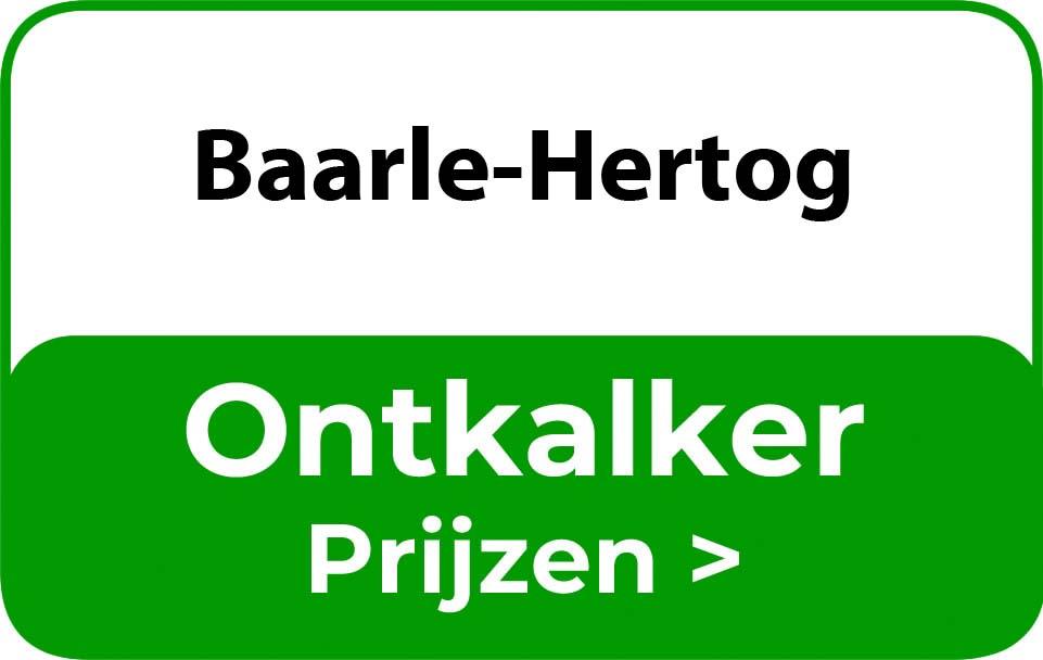 Ontkalker in de buurt van Baarle-Hertog