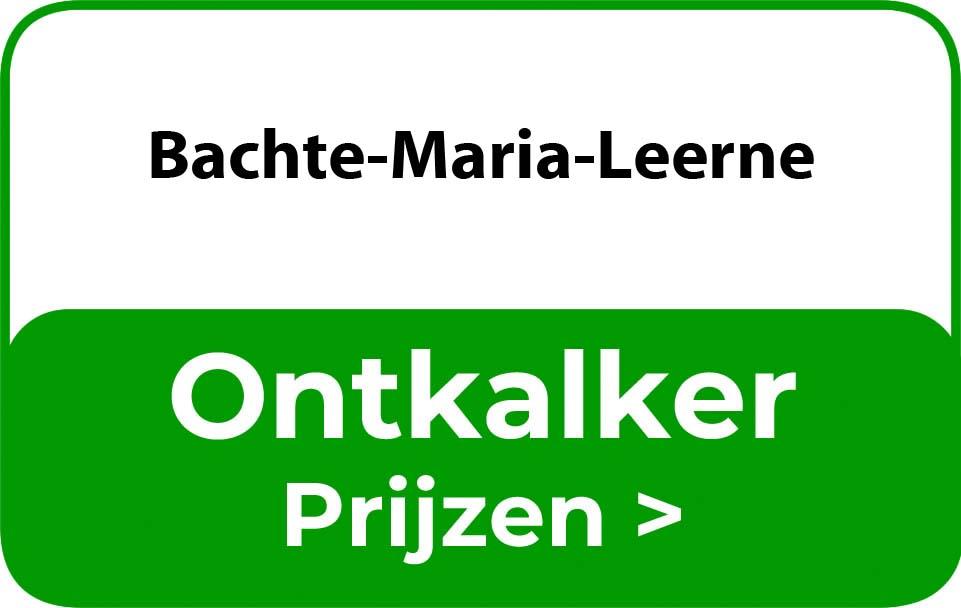 Ontkalker in de buurt van Bachte-Maria-Leerne