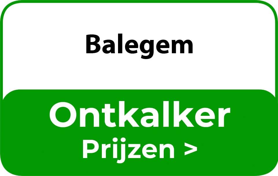 Ontkalker in de buurt van Balegem