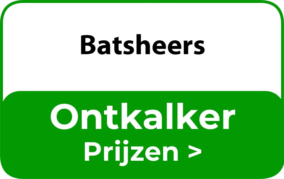 Ontkalker in de buurt van Batsheers
