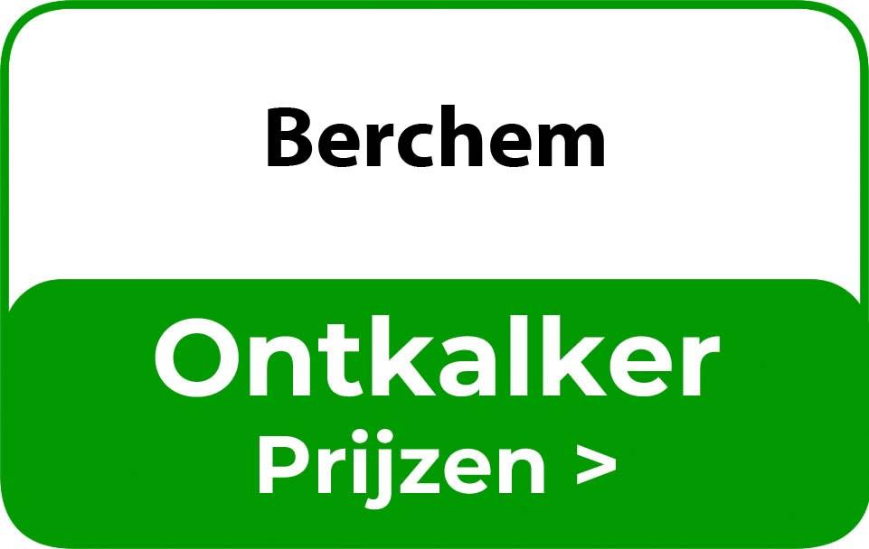 Ontkalker in de buurt van Berchem
