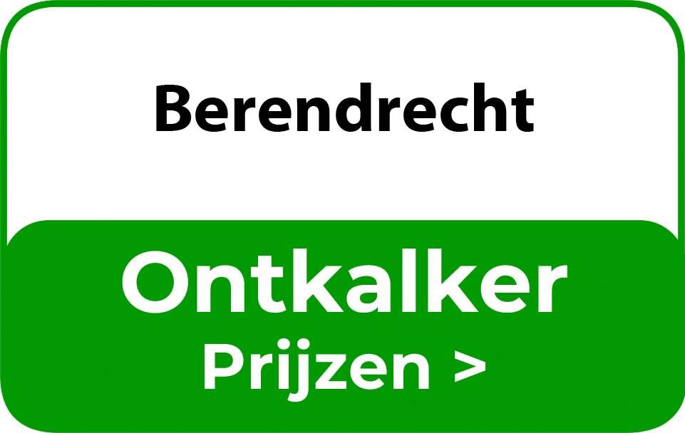 Ontkalker in de buurt van Berendrecht