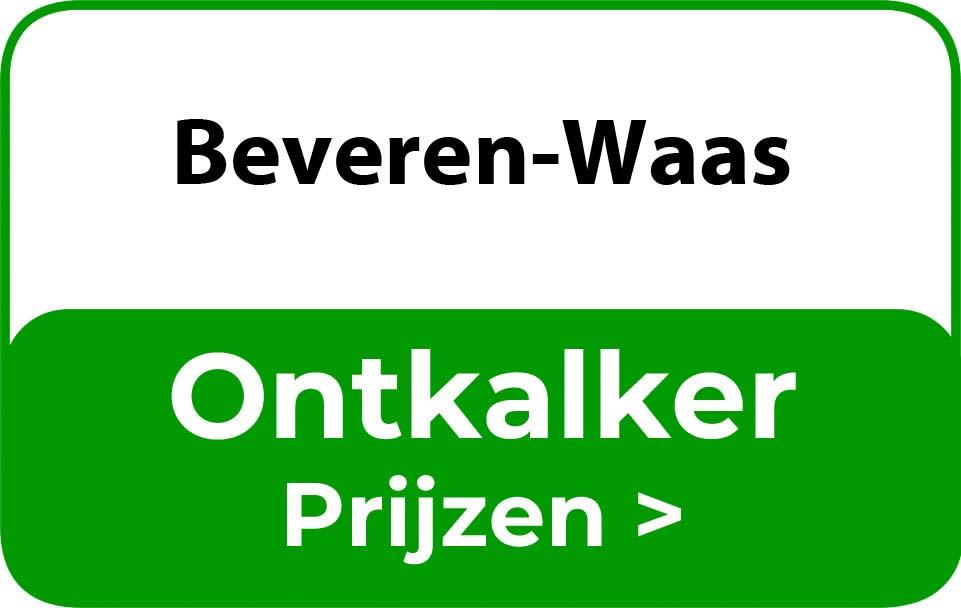Ontkalker in de buurt van Beveren-Waas