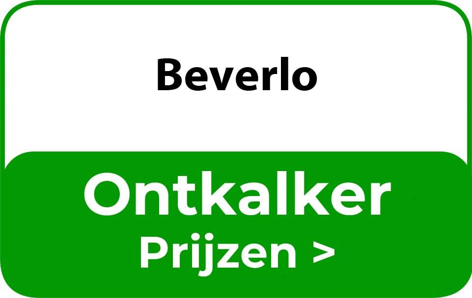 Ontkalker in de buurt van Beverlo