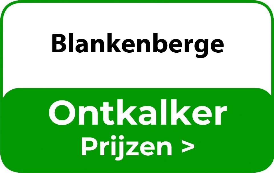 Ontkalker in de buurt van Blankenberge