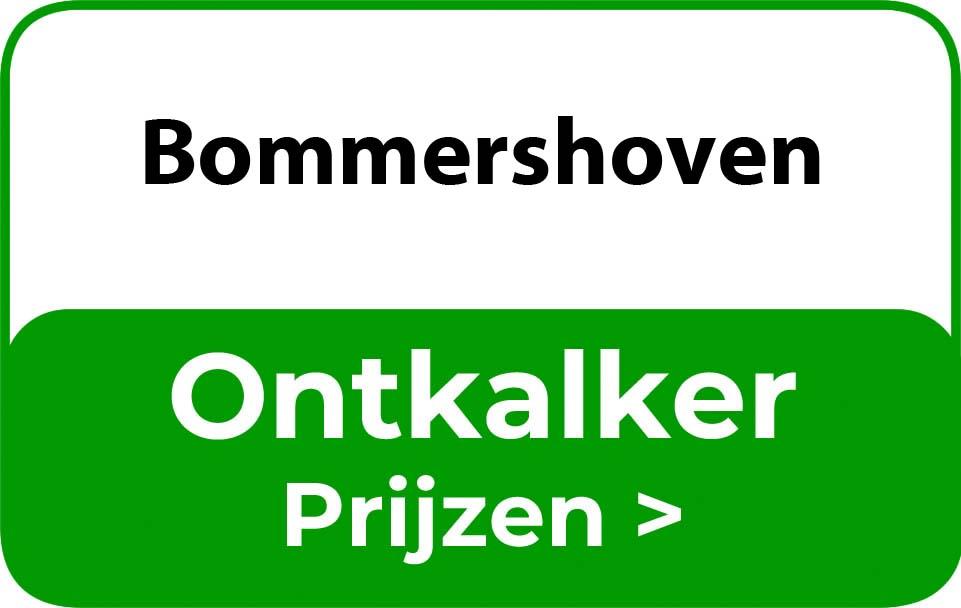 Ontkalker in de buurt van Bommershoven