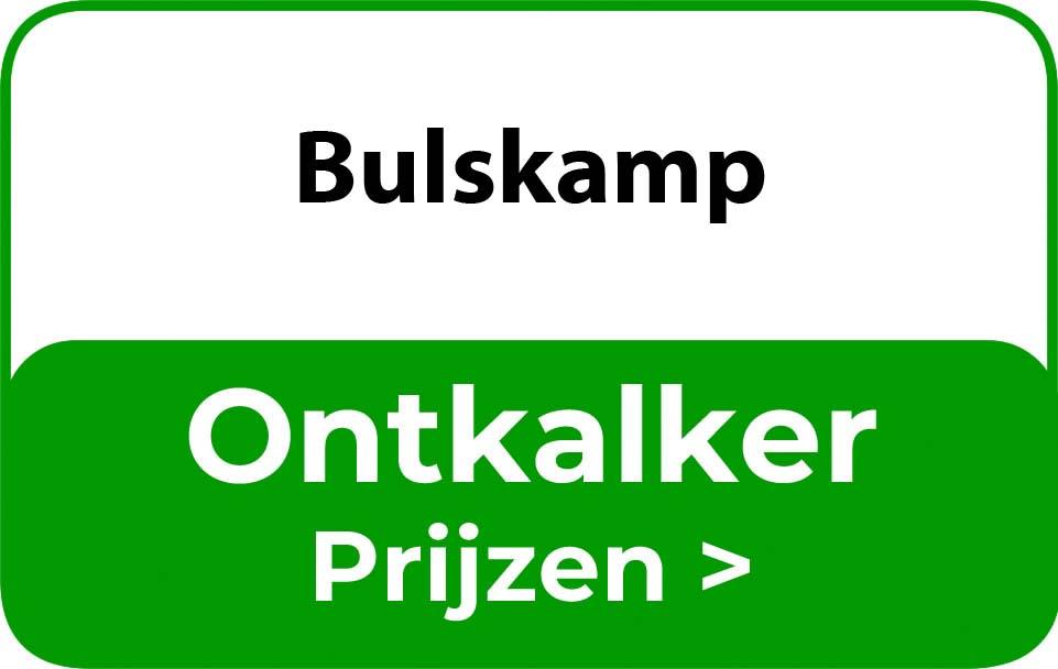 Ontkalker in de buurt van Bulskamp
