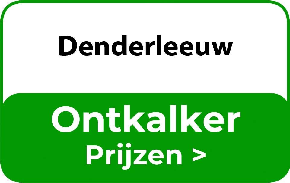 Ontkalker in de buurt van Denderleeuw