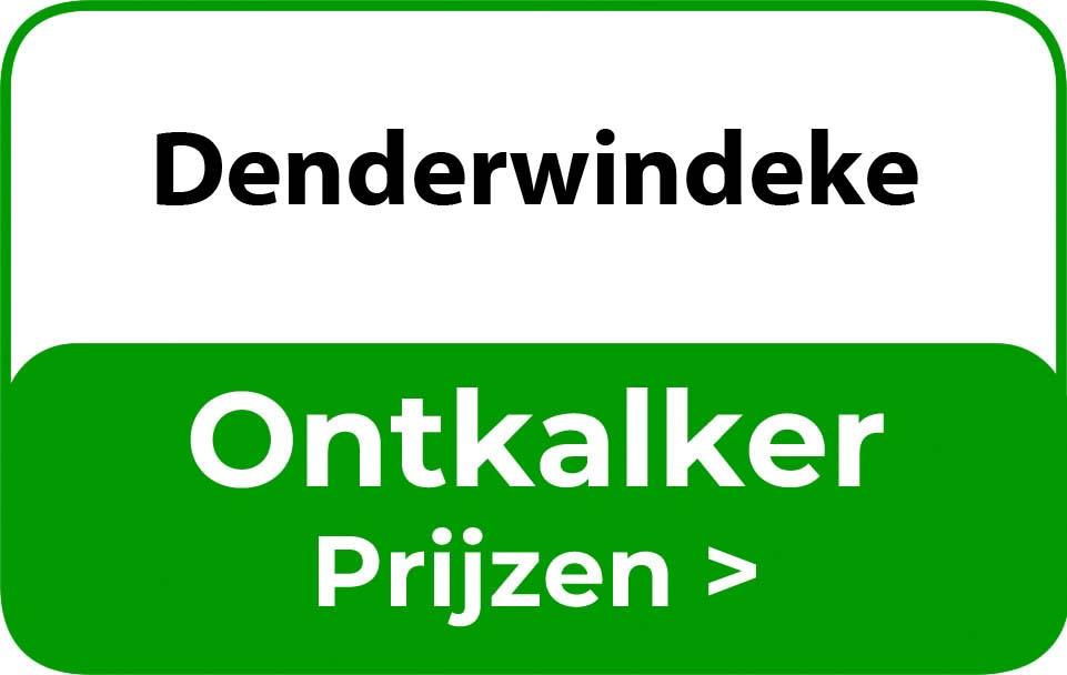 Ontkalker in de buurt van Denderwindeke