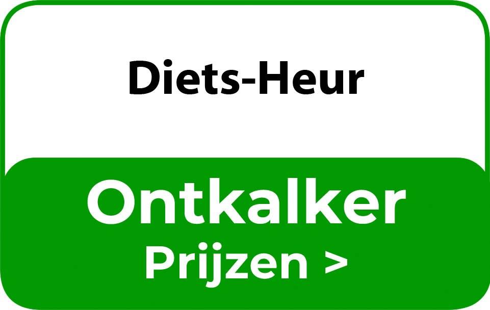Ontkalker in de buurt van Diets-Heur