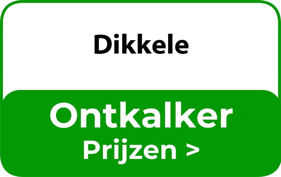 Ontkalker in de buurt van Dikkele