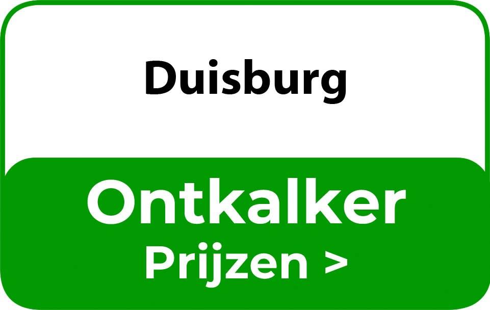 Ontkalker in de buurt van Duisburg