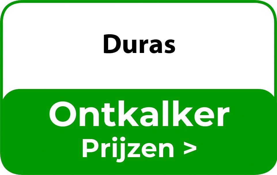 Ontkalker in de buurt van Duras