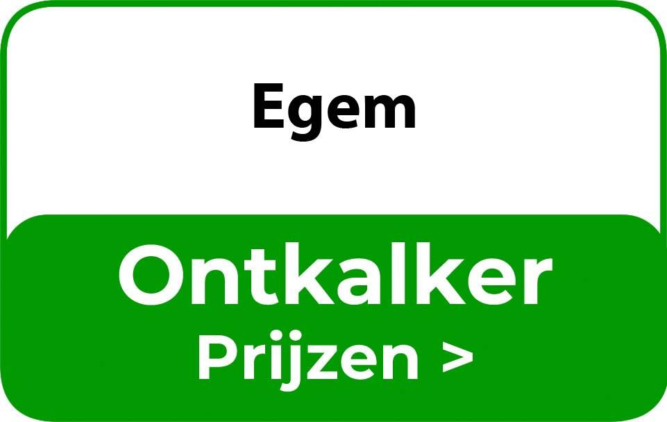 Ontkalker in de buurt van Egem