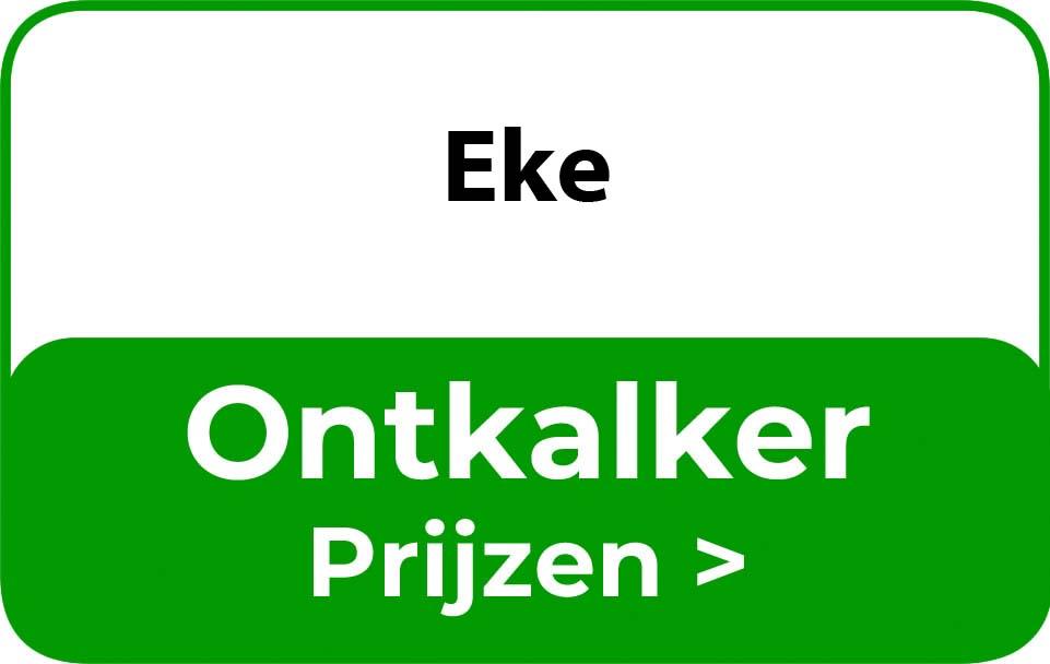 Ontkalker in de buurt van Eke