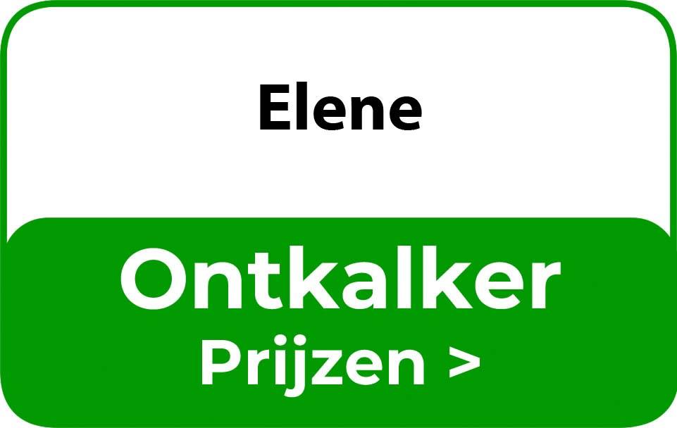 Ontkalker in de buurt van Elene