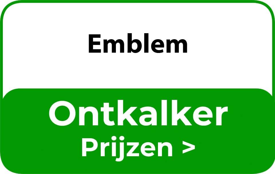 Ontkalker in de buurt van Emblem