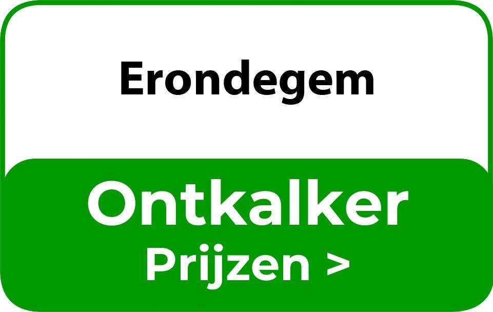 Ontkalker in de buurt van Erondegem