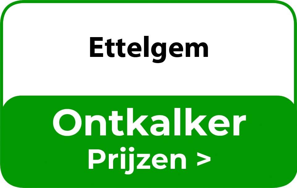Ontkalker in de buurt van Ettelgem