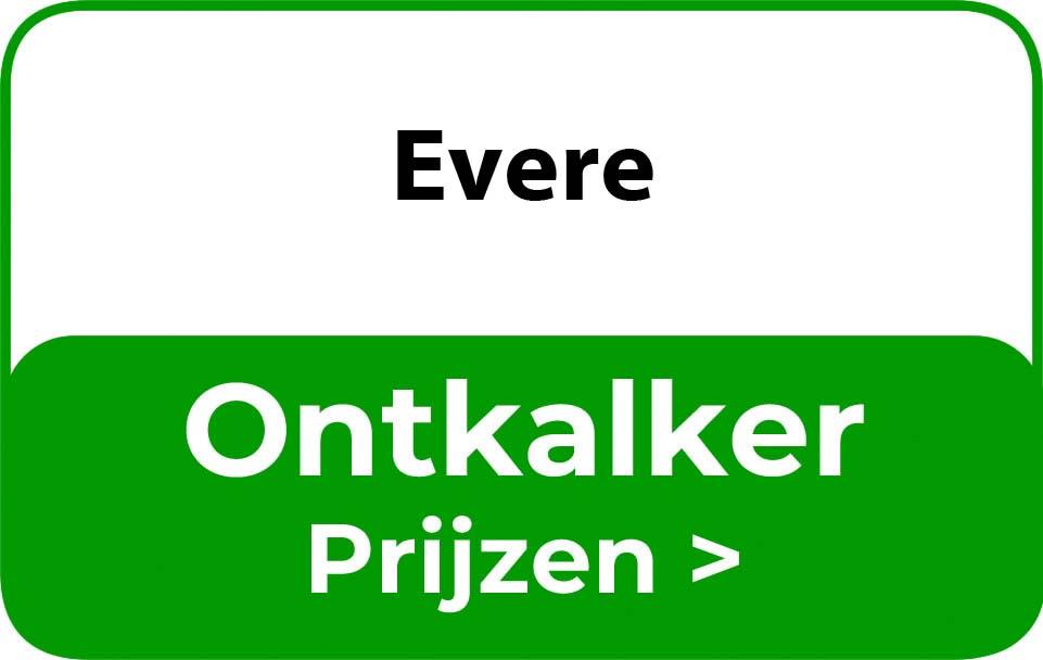 Ontkalker in de buurt van Evere
