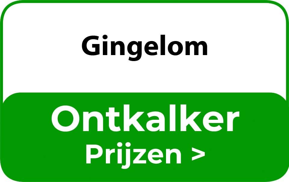 Ontkalker in de buurt van Gingelom
