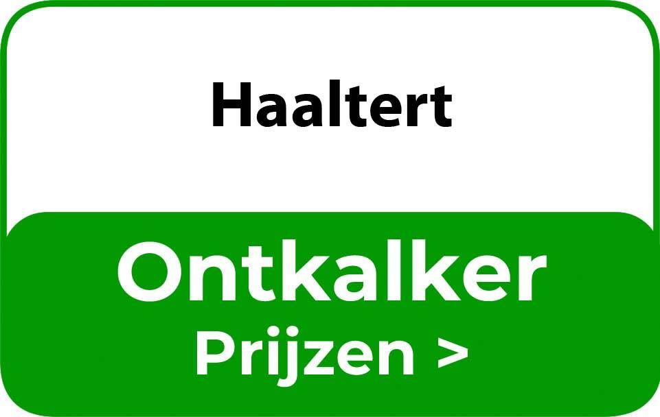 Ontkalker in de buurt van Haaltert