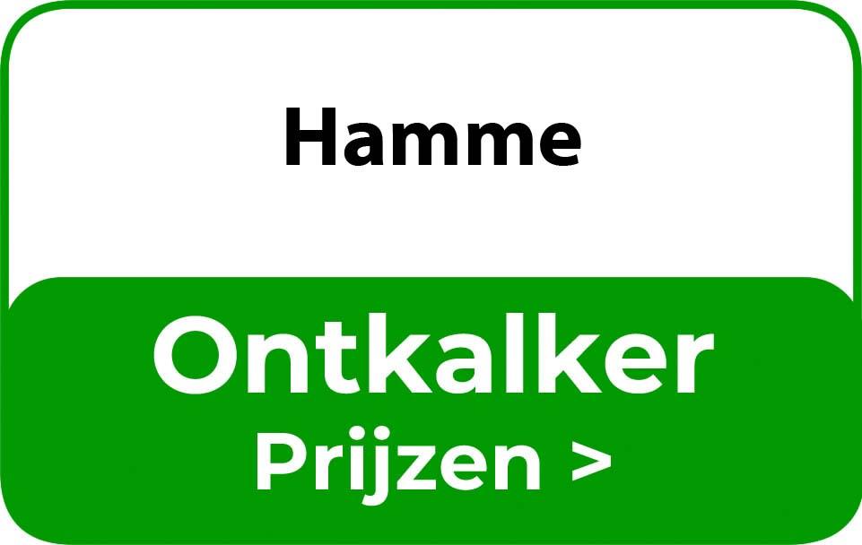 Ontkalker in de buurt van Hamme