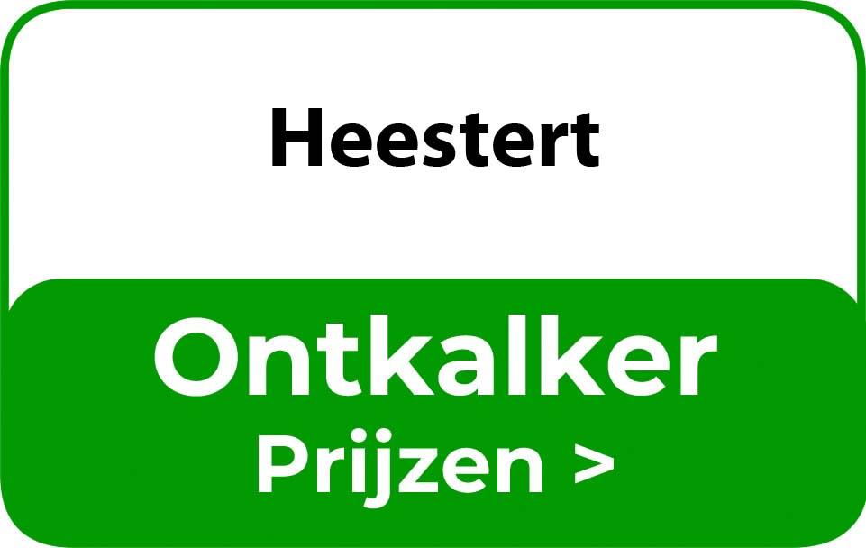 Ontkalker in de buurt van Heestert