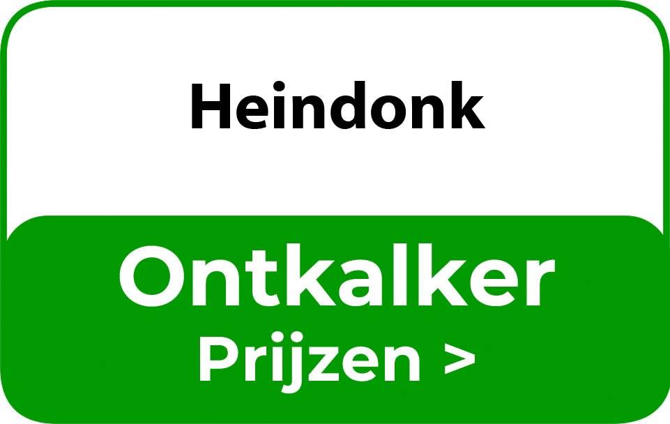 Ontkalker in de buurt van Heindonk