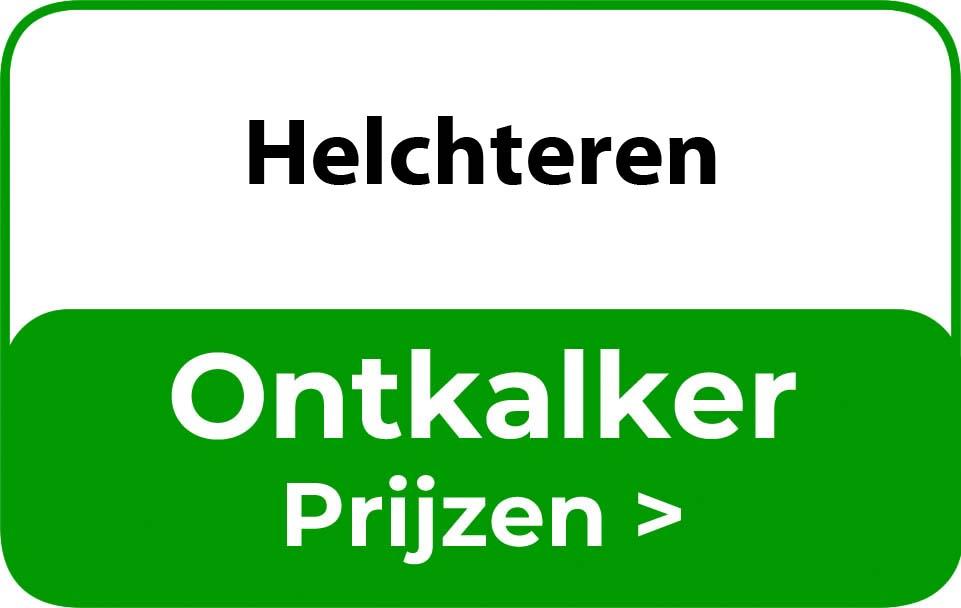 Ontkalker in de buurt van Helchteren
