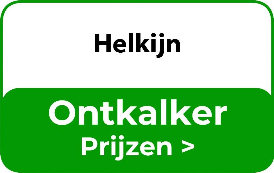 Ontkalker in de buurt van Helkijn