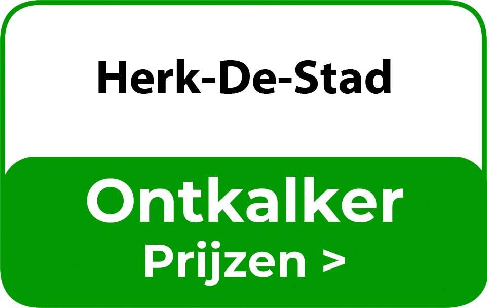 Ontkalker in de buurt van Herk-De-Stad
