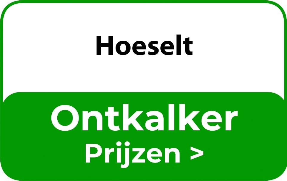 Ontkalker in de buurt van Hoeselt