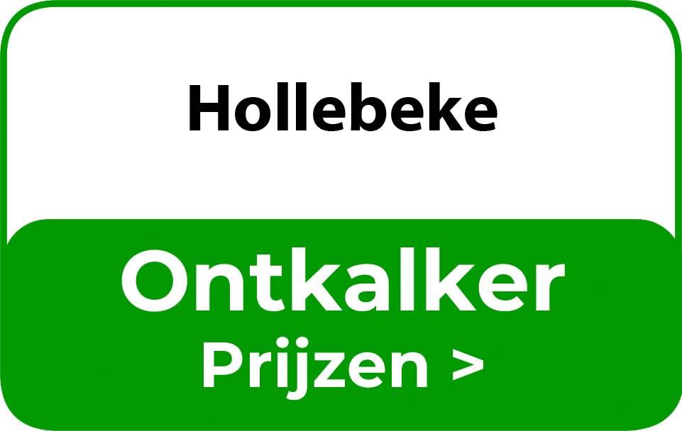 Ontkalker in de buurt van Hollebeke