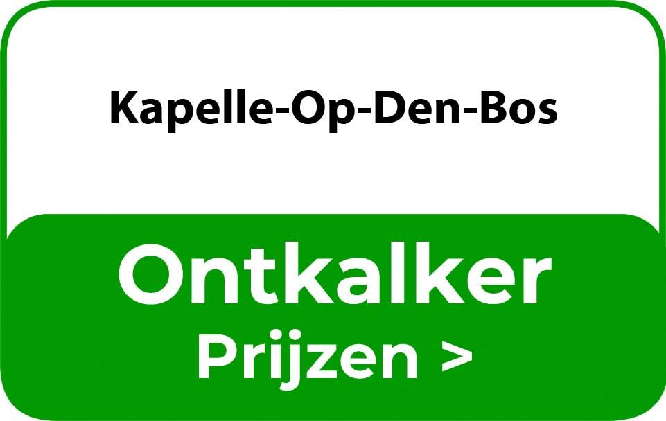 Ontkalker in de buurt van Kapelle-Op-Den-Bos