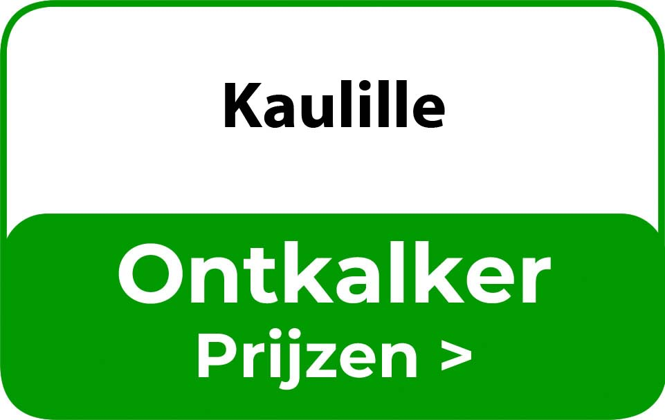 Ontkalker in de buurt van Kaulille