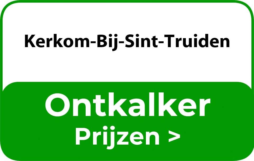 Ontkalker in de buurt van Kerkom-Bij-Sint-Truiden