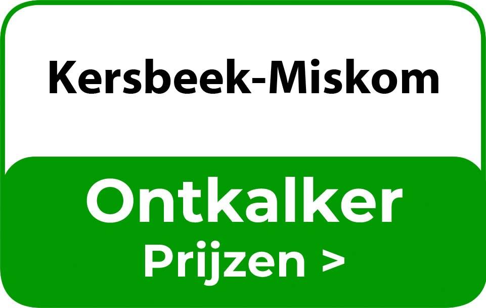 Ontkalker in de buurt van Kersbeek-Miskom