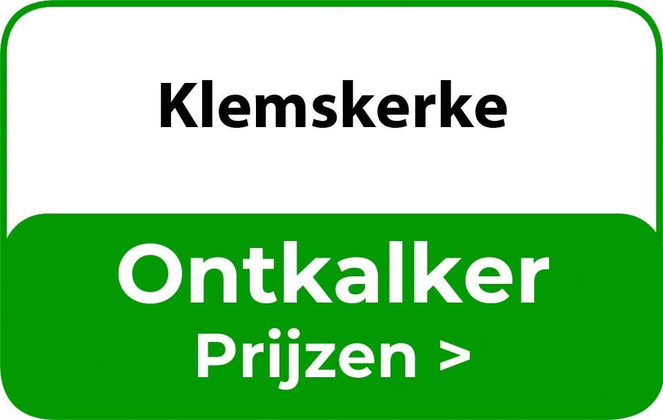 Ontkalker in de buurt van Klemskerke