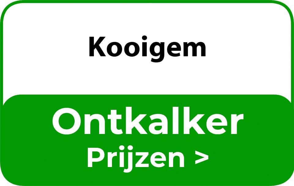 Ontkalker in de buurt van Kooigem