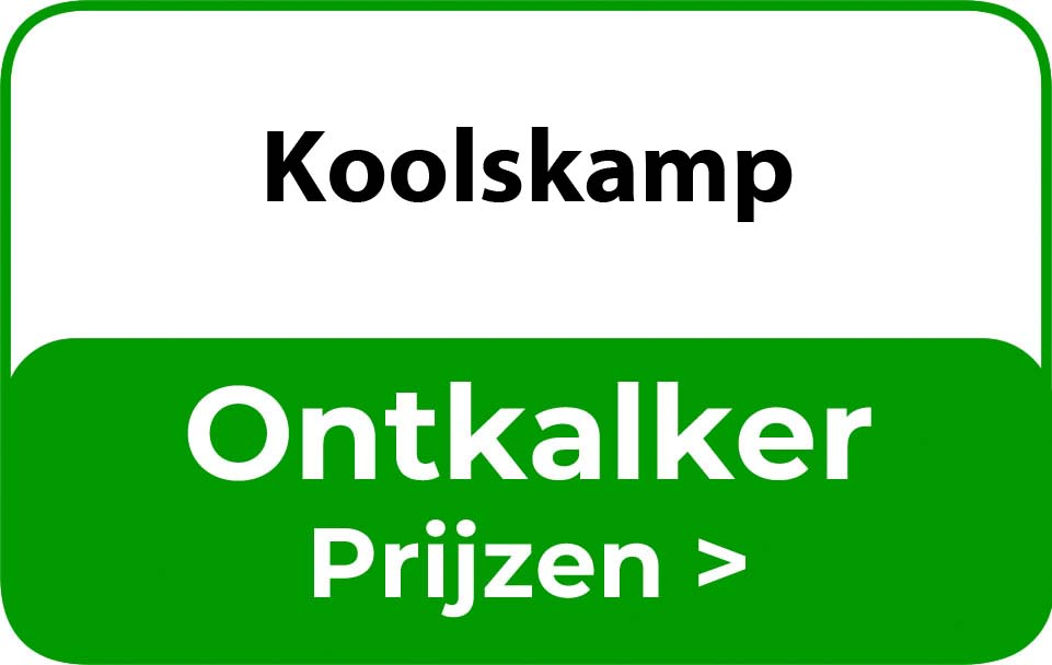 Ontkalker in de buurt van Koolskamp