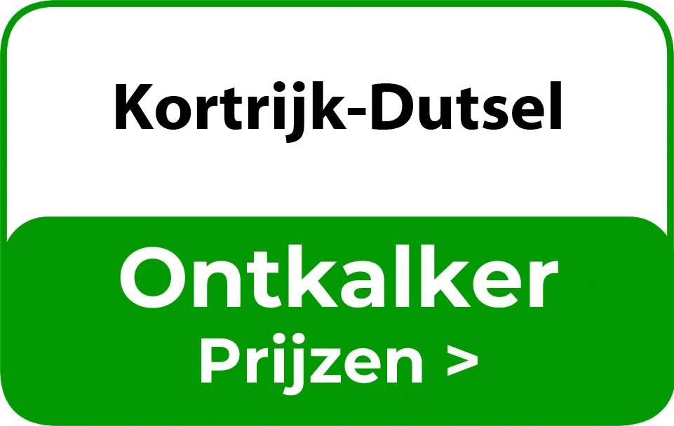 Ontkalker in de buurt van Kortrijk-Dutsel