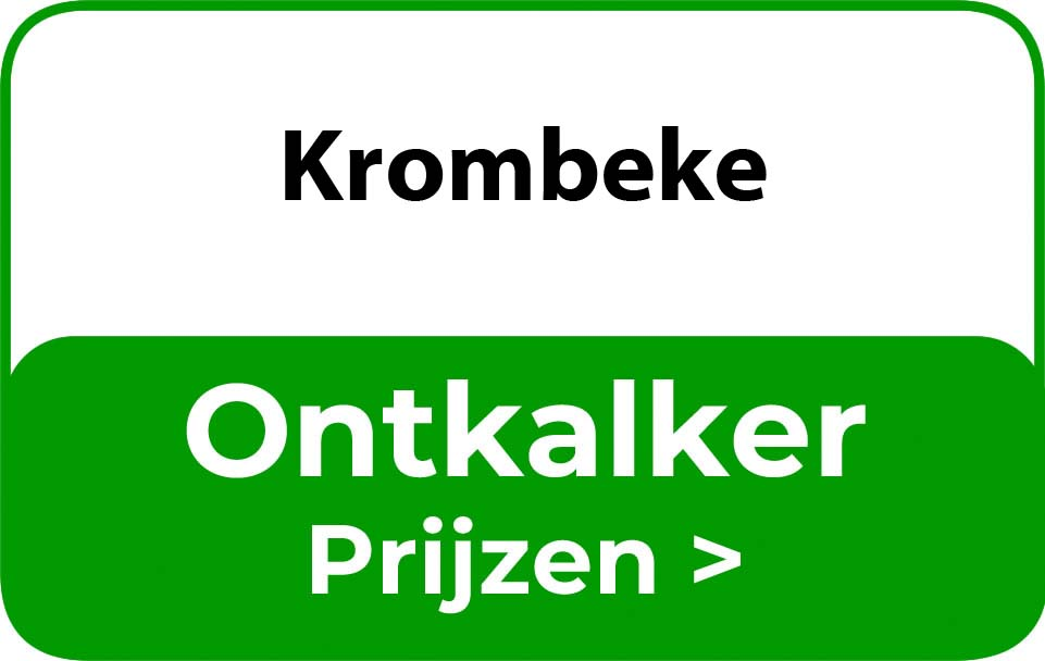 Ontkalker in de buurt van Krombeke