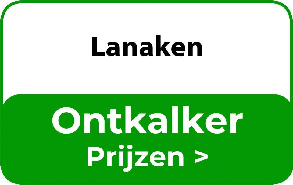 Ontkalker in de buurt van Lanaken