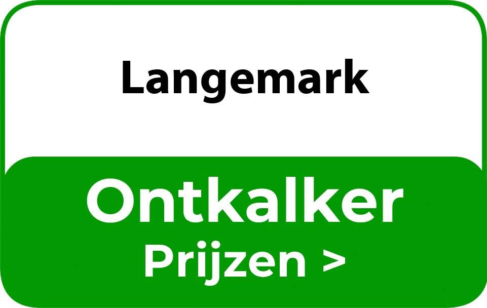Ontkalker in de buurt van Langemark